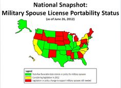 23 States Have Now Passed Pro-Military Spouse License Portability Measures | whitehouse.gov