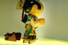 Bushido on Toy Design Served