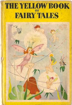 VINTAGE KIDS BOOK The Yellow Book of Fairy Tales by HazelCatkins, $20.00
