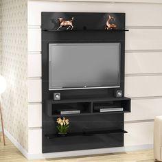 Compre Painel para TV até 47 Polegadas Plus Preto - Urbe Móveis em Promoção com ✓ Até 12x ✓ Fretinho