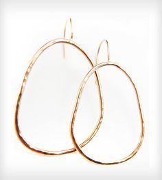 Gold Talia Hoop Earrings   Jewelry Earrings   Natasha Grasso   Scoutmob Shoppe   Product Detail