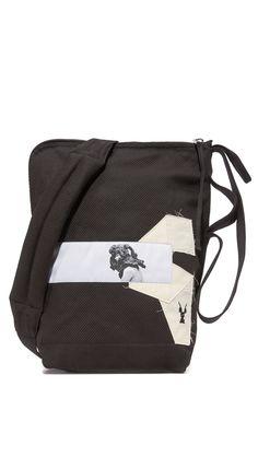 Rick Owens DRKSHDW Men's Bucket Bag, Black, One Size