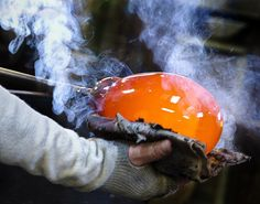 Sunday was one of those serendipitous days when I had the wonderful opportunity to see a master at work. Robert Gary Parkes gave an exclusive glass blowing demonstration to members of my camera cl…