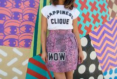 Happiness Clique Happiness Tee