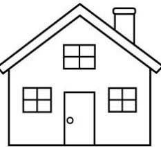 Simple house coloring page fetching house drawing easy beautiful ideas 2 drawings for kids simple house coloring sheet Simple House Drawing, House Drawing For Kids, House Colouring Pages, Coloring Sheets, Coloring Pages, Hand Coloring, Easy Drawings For Beginners, Easy Drawings For Kids, Easy Drawing Steps