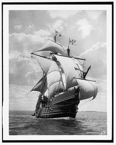 [Spanish caravel Santa Maria]