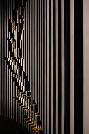 EmQuartier Bangkok Fred Perry store by BuckleyGrayYeoman, Photo: © Wison Tungthunya London-based architecture practice BuckleyGrayYeoman has designed a Ceiling Design, Wall Design, Logo Design, Fred Perry, Interior Walls, Interior Design Living Room, 3d Texture, Landscape Walls, Decorative Panels
