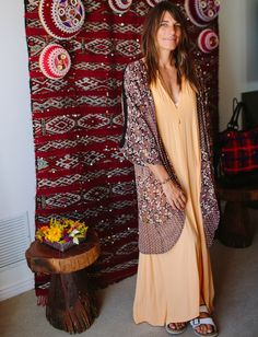 """Fashion Tips From The Coolest Cali Girls   The Zoe Report Alexa Miller-Photographer-""""SoCal style is all about being laid back & comfy. It's sexy but never trying too hard-think, loose layers & lots of beads. The ultimate Cali girl: (Stevie Nicks, she's the first one that comes to mind."""""""