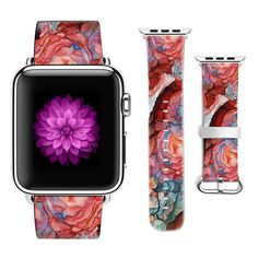 Graffiti Apple watch band with matching iPhone case Apple Watch 1, Apple Watch Bands, Graffiti Flowers, Flower Band, Iphone Leather Case, Iphone Models, Iphone Cases, Phones, United States
