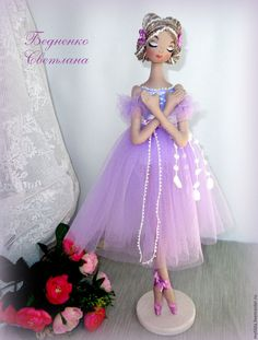 Купить Балерины Лавандовые грезы - бледно-сиреневый, лаванда, лавандовый цвет, балерина, тряпиенс, тряпиенсы