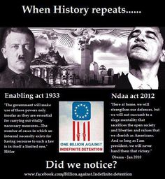 For People Not Seeing The Connection Between Hitler and Obama: Let Me Help!