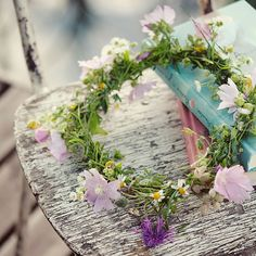 Be inspired and make your own wildflower headband