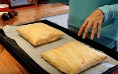 This 10 minute puff pastry will be your new go to recipe. You also love the quick video that shows you 4 ways to make delicious puff pastry treats. Easy Puff Pastry Recipe, Pastry Dough Recipe, Puff Pastry Desserts, Puff Pastry Dough, Choux Pastry, Shortcrust Pastry, Savory Pastry, Biscuit Recipe, Rough Puff Pastry