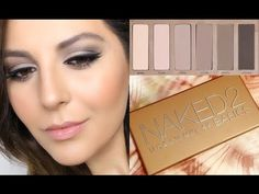 ▶ UD Naked Basics 2 Palette Review + Tutorial | Sona Gasparian - YouTube