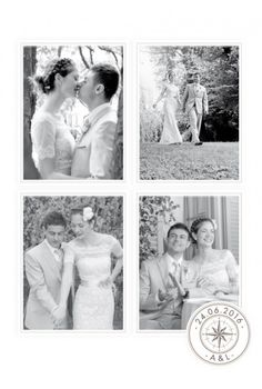 carte de remerciement mariage voyage - Remerciement Mariage Personne Absente