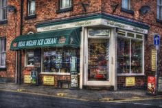 Old Ice Cream Shop by Ian Mitchell, via 500px