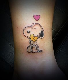 snoopy tattoos | Snoopy by Taigeri