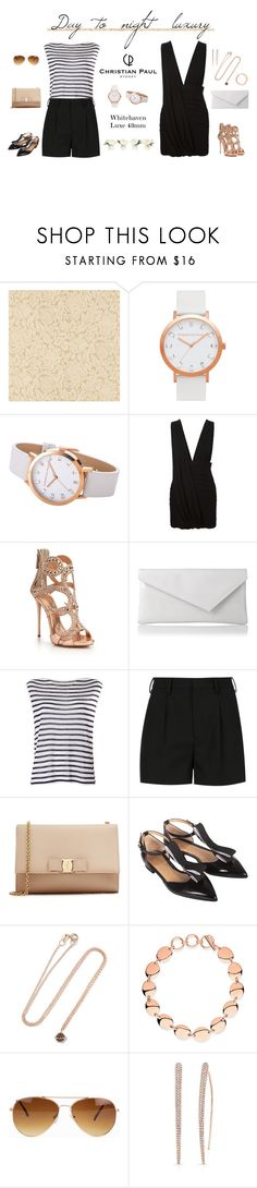 """Day to night - Christian Paul"" by blueeyed-dreamer ❤ liked on Polyvore featuring Zoffany, Anthony Vaccarello, Giuseppe Zanotti, L.K.Bennett, T By Alexander Wang, Yves Saint Laurent, Salvatore Ferragamo, Aamaya by priyanka, Links of London and Rut&Circle"