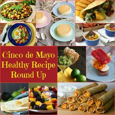 Healthy Cinco de Mayo Round Up www.fooddonelight.com #healthymexicanrecipes #healthycincodemayo