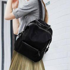 4eda42ddb2f9 Міський рюкзак із нейлону. Яскрава модель міського рюкзака для дівчини.  Розміри: висота 37
