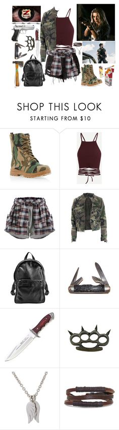 """Z NATION ""We Were Nowhere Near The Grand Canyon"""" by eeeemmaa ❤ liked on Polyvore featuring Sunday Somewhere, Market, Handle, ETUÍ, Minor Obsessions and Gioelli"
