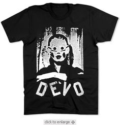 Devo T-shirt $19.95 For more go http://streetlegaltshirts.com/ . You can also find there #Funny #Vintage #Women #Men #Movie #Unique #Logo #Band #beer #Offensive #Fashion #Juniors #Tees #motorcycle #Sunday #Funday t shirt #T #Shirts #tshirt #t-shirt #Tees #Rock