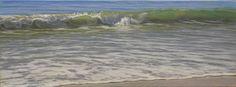 Rompiendo en la orilla