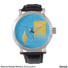 Abstract Design Watch