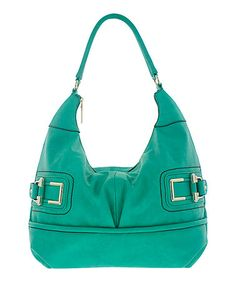 Take a look at this Aqua Penelope Hobo by Melie Bianco on #zulily today!