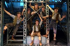 "How to dance the newspaper dance from Seize the Day | Here's What Happens When You Try To Dance With ""Newsies"" On Broadway"