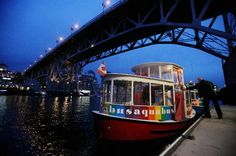 The Aquabus to Granville Island, Vancouver brings me to happiness. My favorite place to go for memories