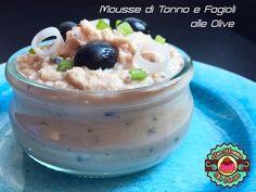Una mamma che cucina: Mousse di Tonno e Fagioli corona alle Olive