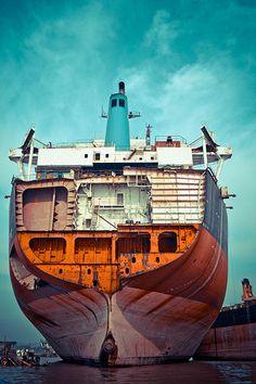 chittagong ship breaking yard - Google Search