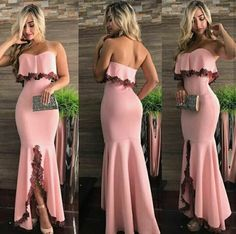 Charming Evening Dress Mermaid Prom Dress Off Shoulder Long Prom Dresses, Elegant Evening Party Dresses Elegant Dresses, Pretty Dresses, Sexy Dresses, Beautiful Dresses, Fashion Dresses, Formal Dresses, Mermaid Evening Dresses, Mode Inspiration, Classy Outfits