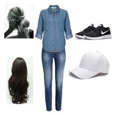 """""""Untitled #83"""" by bulldoggrl on Polyvore featuring Miss Selfridge and NIKE"""