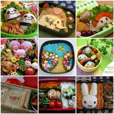 Bento boxes. ha- a thing i made over on Flickr
