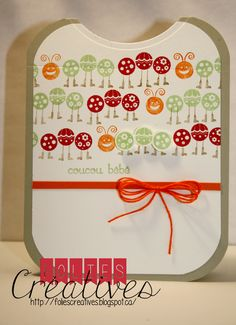 Baby cards with Bug me from Stampin'Up!