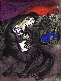 Chagall, Marc (1887-1985) - 1956 Jeremiah's Lamentations