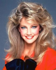 Heather Locklear Hairstyle flashback to the 80s