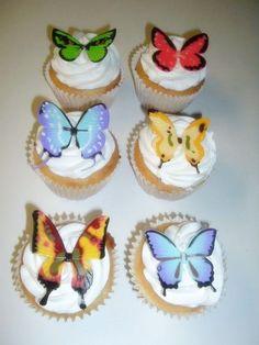 Mariposas Cupcakes