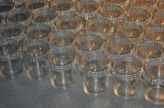 Set of  150 Clear  Glass Votive Holders with by MyKreations4U