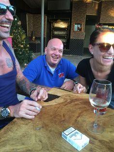 Happy hour met Dan en Esha