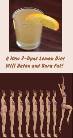 A New 7-Dyas Lemon Diet Will Detox and Burn Fat!