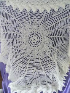 Crochet Pattern Central Free Baby Afghan Crochet Pattern Link : Free Crochet Valis Circular Shawl Pattern. Its found ...
