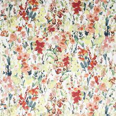 Warwick Fabrics : INGRID, Colour TERRACOTTA