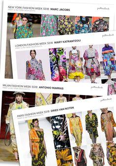 Spring/Summer 2018 Catwalk Print & Pattern Trend Report | Patternbank