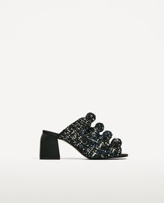 Image 2 of KNOTTED HEELED MULES from Zara