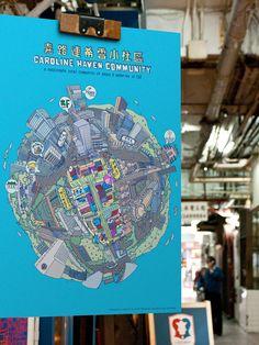 Caroline Haven Community on Behance Map Design, Graphic Design, Some Words, Design Projects, Infographic, Behance, Community, Illustration, Wellness