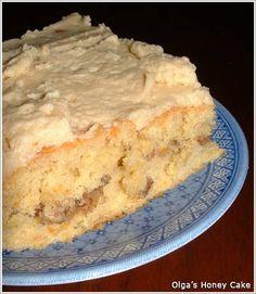 Olga's Ukrainian Honey Cake - Medianyk - Made with Yeast
