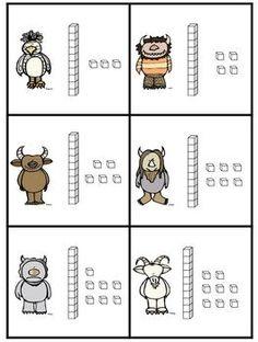 Classroom Freebies: Wild Place Value! Centenes, desenes i unitats (D-U-C) Fun Classroom Activities, Classroom Freebies, Math Classroom, Kindergarten Math, Teaching Math, Math Games, Teaching Ideas, Teaching Tools, Guided Maths